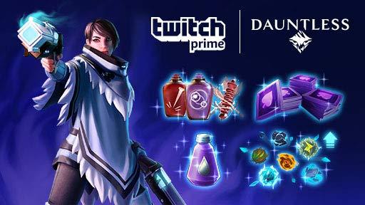 Dauntless: Paquete Suministros de asalto gratis con Twitch Prime
