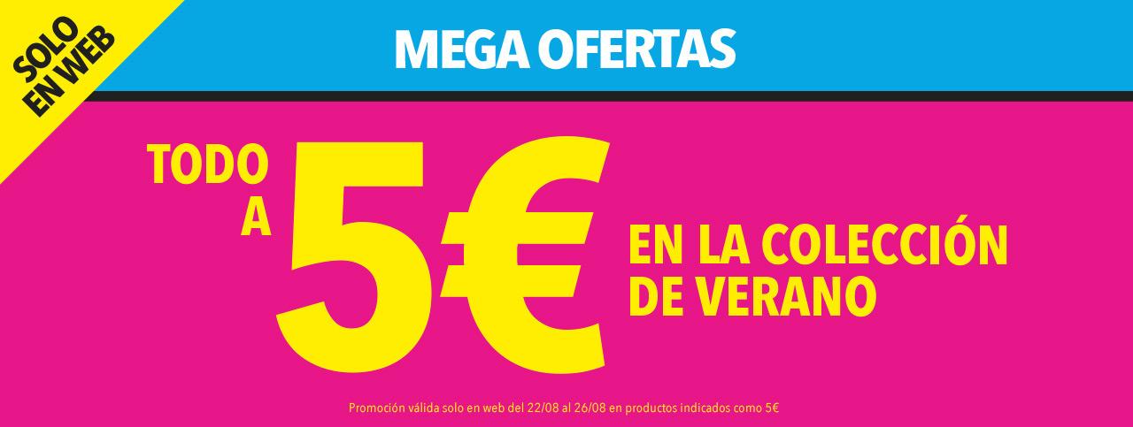 TODO A 5 EUROS Colección verano Merkal