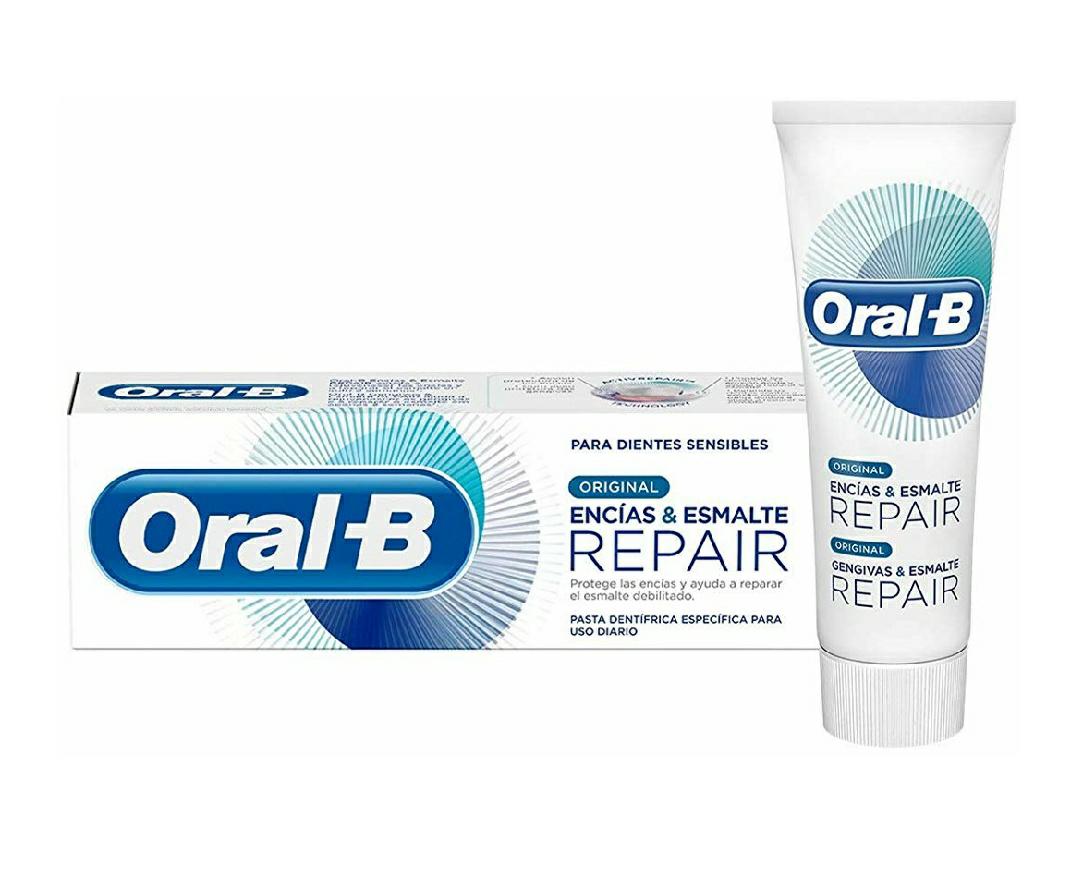 Oral-B Dentífrico Encías y Esmalte - 6 Paquetes de 1 Unidad