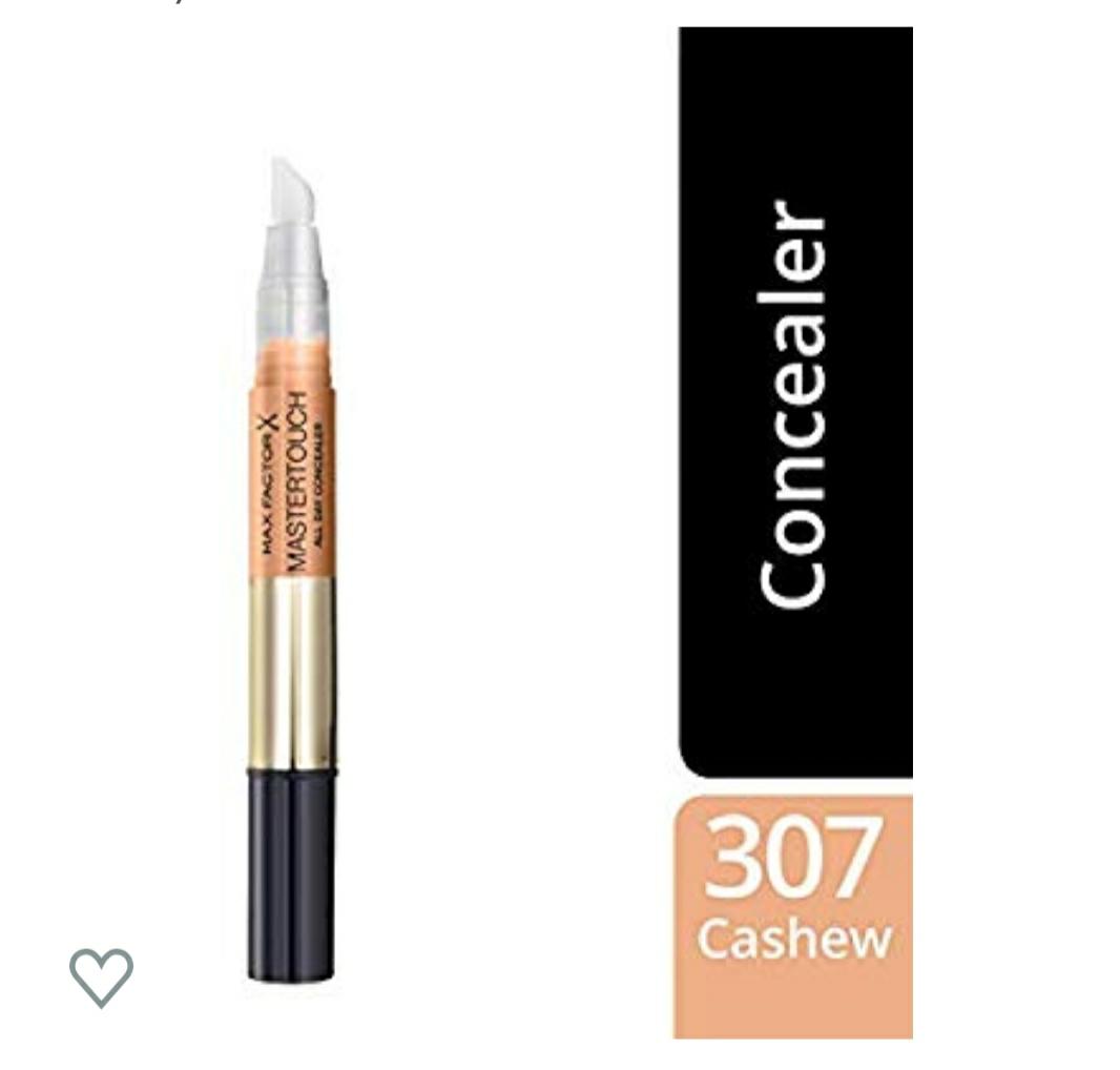 Max Factor, Maquillaje corrector (Tono: 307 Cashew, Pieles Oscuras) - 12 ml