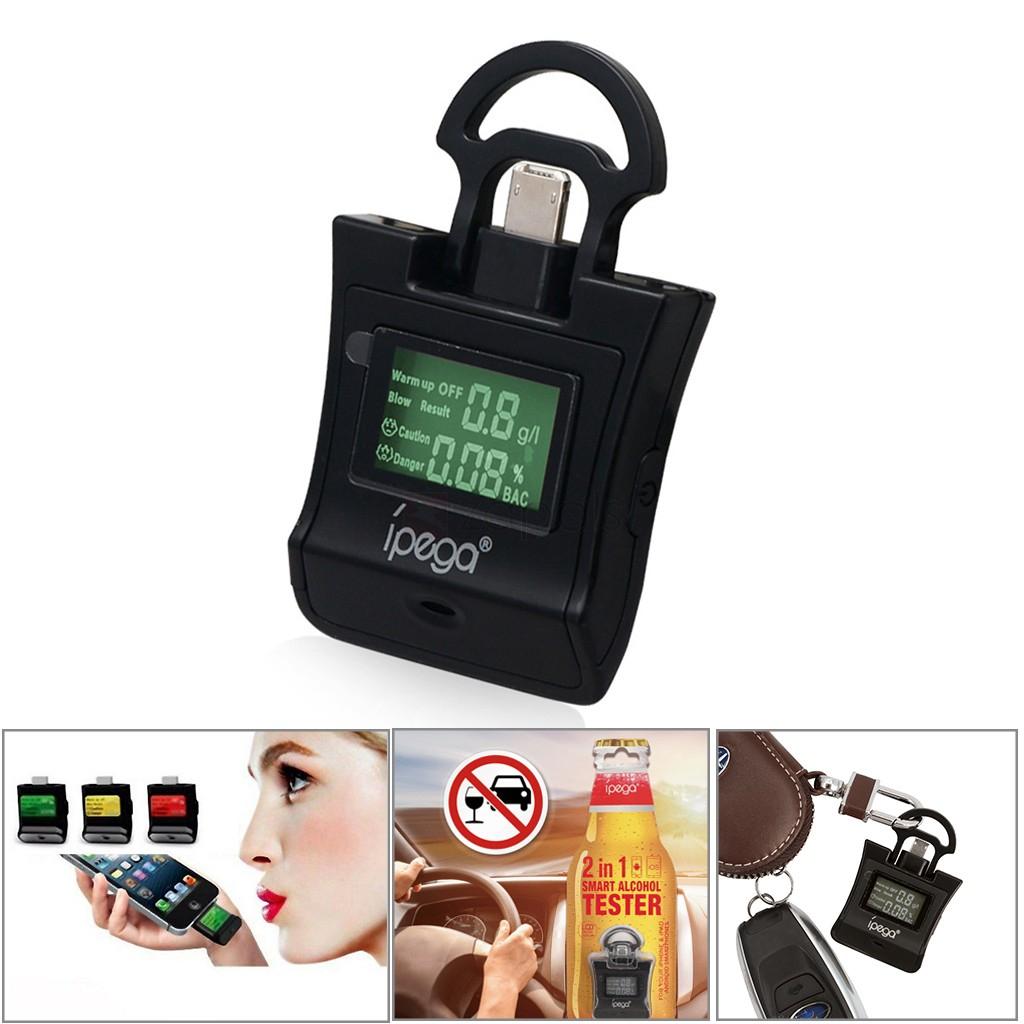 Alcoholímetro portable - IPEGA