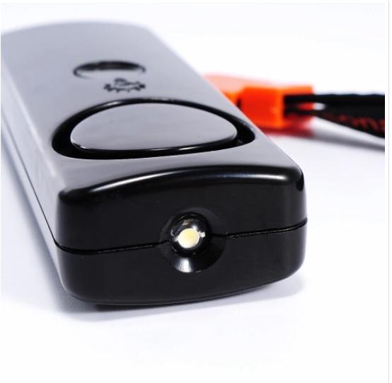 Alarma de seguridad personal de emergencia 120dB, con linterna led