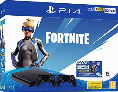Playstation 4 Slim + 2 mandos solo 245€