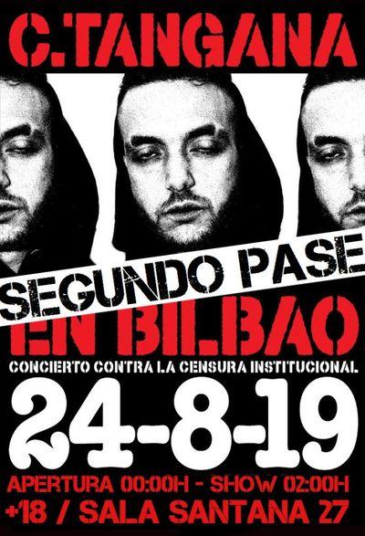 entradas gratis para el segundo pase de C Tangana en Bilbao