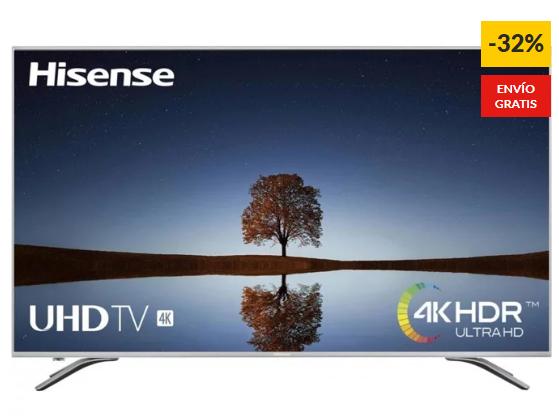 TV HISENSE 55A6500 LED - 55'' 4K Ultra HD - Smart TV