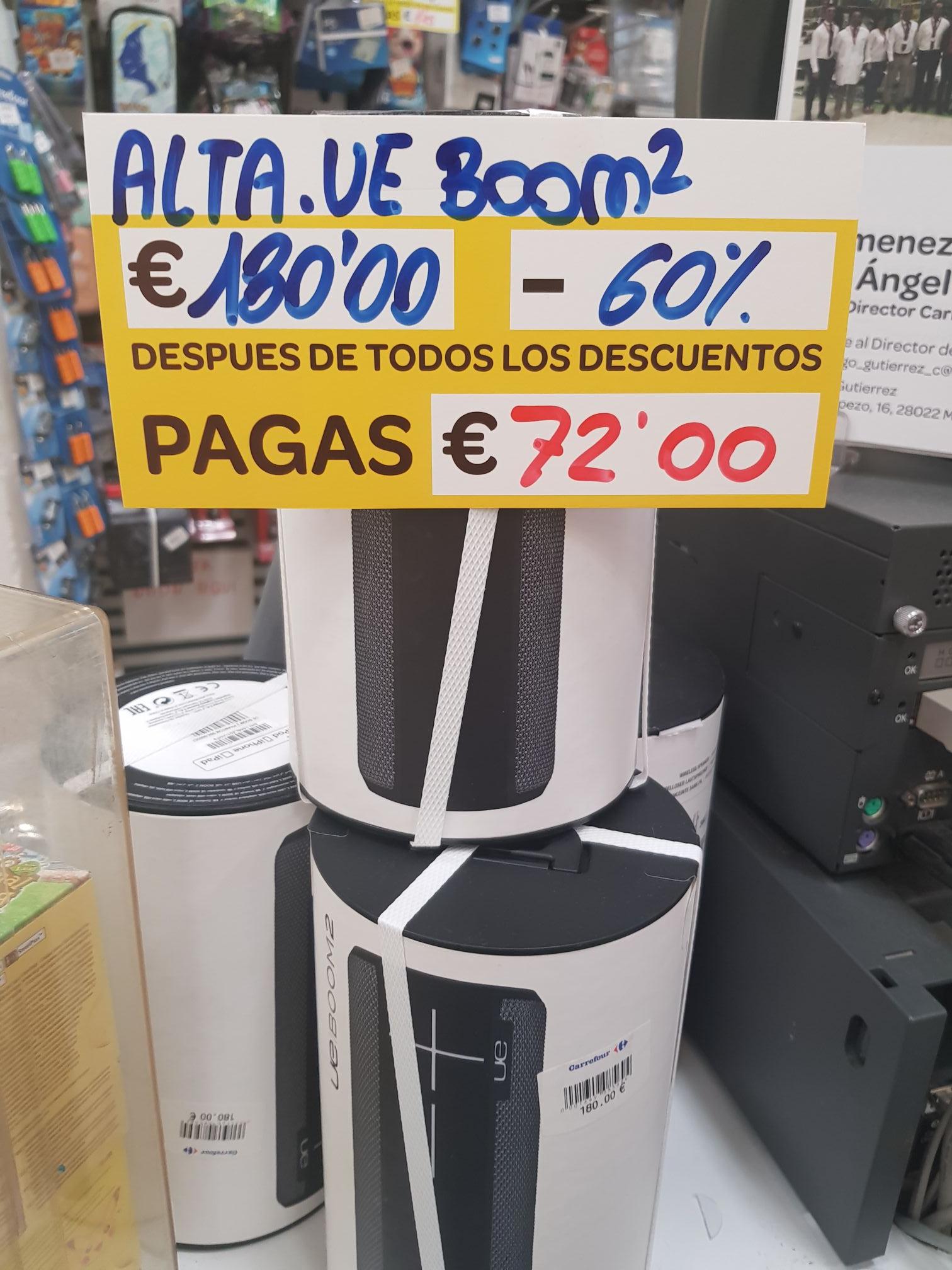 Altavoz UE Boom 2