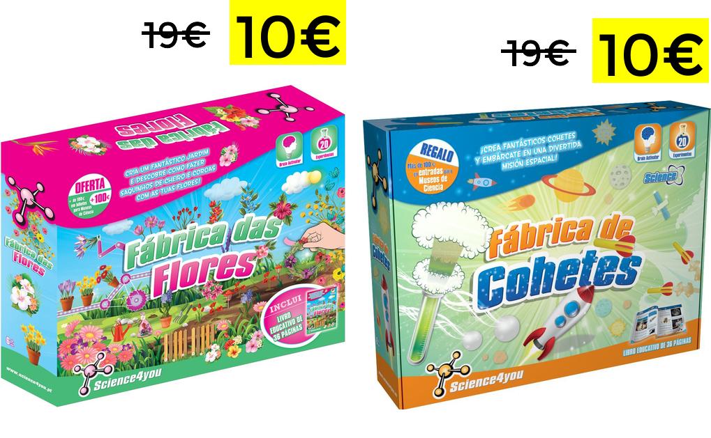 Science4you juegos creativos para niños solo 10€