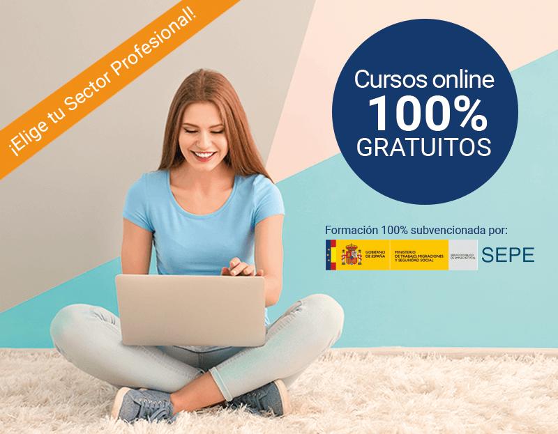 Hasta 385 Cursos online 100% gratuitos para todos los sectores laborales.