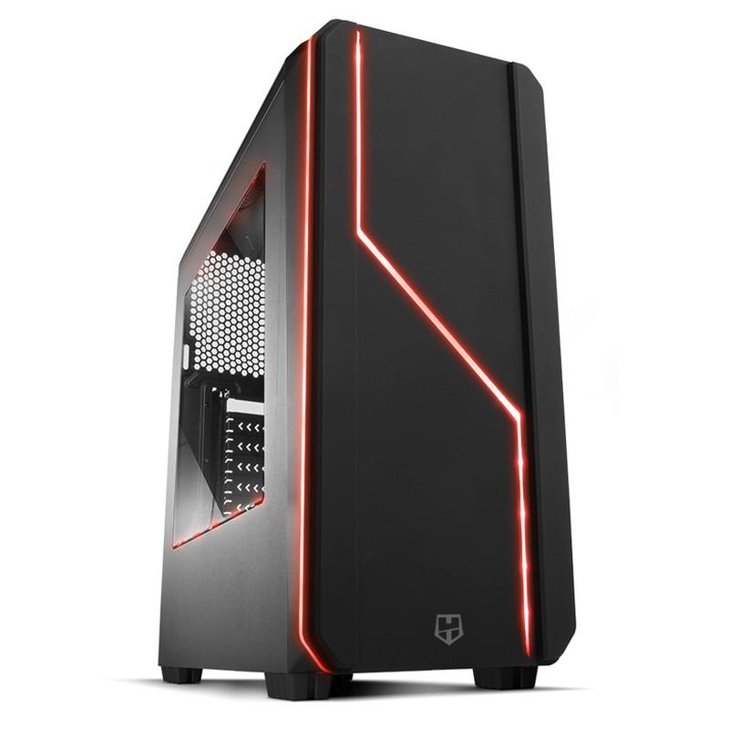 PC gamer Ryzen 2600X, 500GB SSD, 2TB HDD, DDR4 16GB 3000 mhz GTX 1660 OC