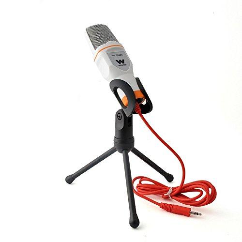 Woxter Mic Studio White - Micrófono de condensación