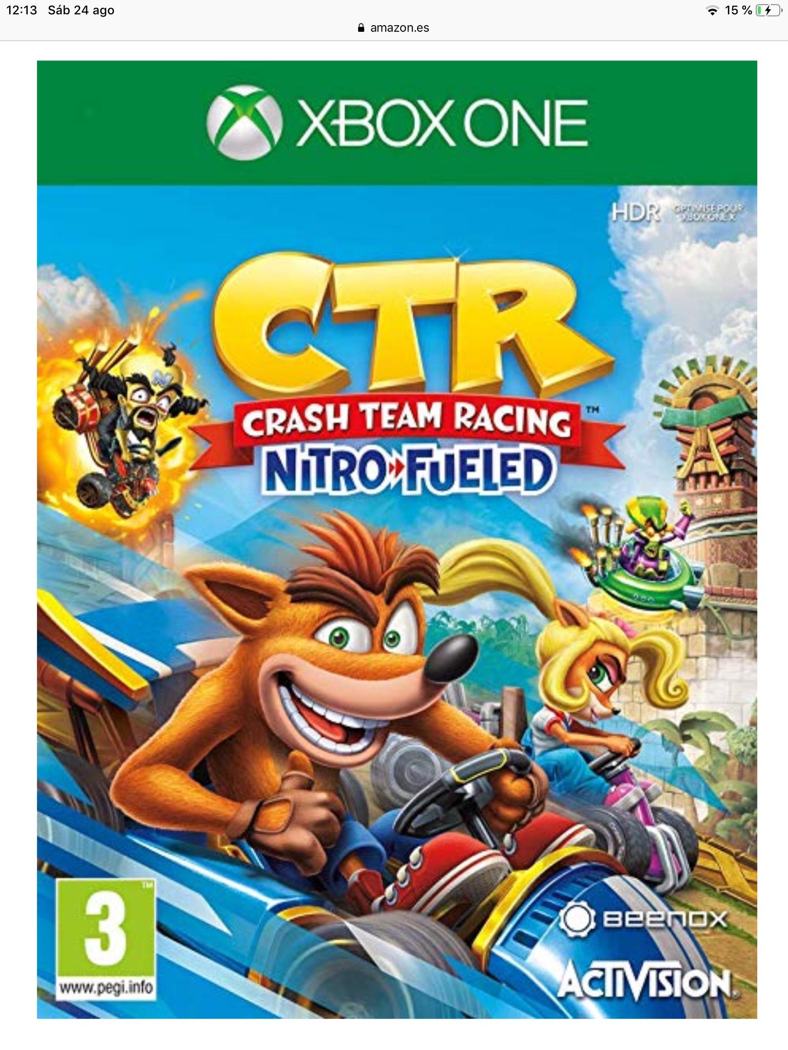 Crash team Racing Nitro fueled  edición estándar
