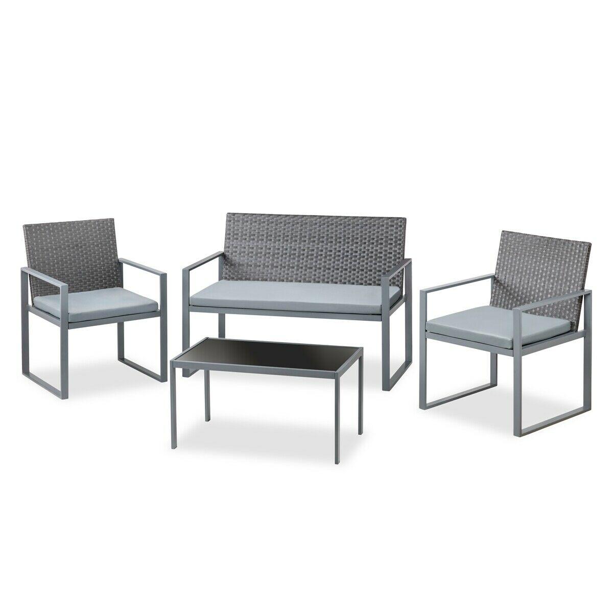 Set de jardín sofá + 2 sillas solo 69.9€