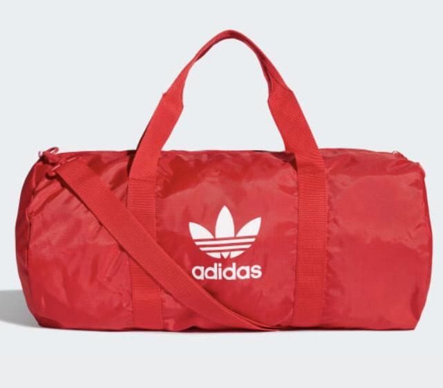 [ADIDAS] Bolsa de deporte Adicolor (Rojo)