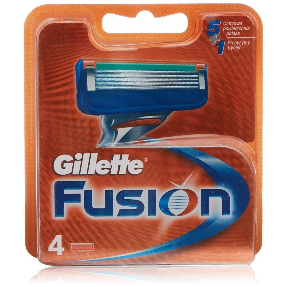 Cuchillas afeitar Guillete Fusion