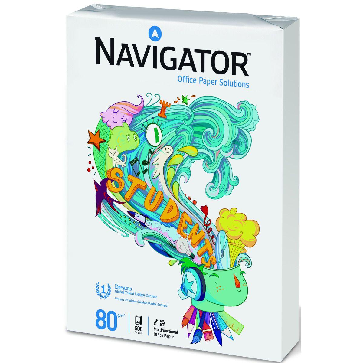 3 Paquetes de Folios 500 hojas Navigator Students a 5,97€