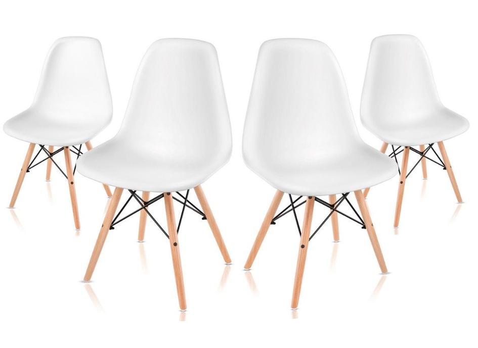 Pack 4 sillas estilo nórdico solo 49.9€