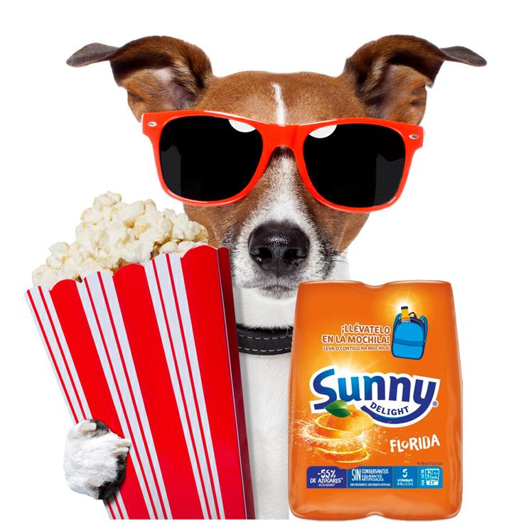 Entrada Cine +4 Sunny Delight solo 1.5€
