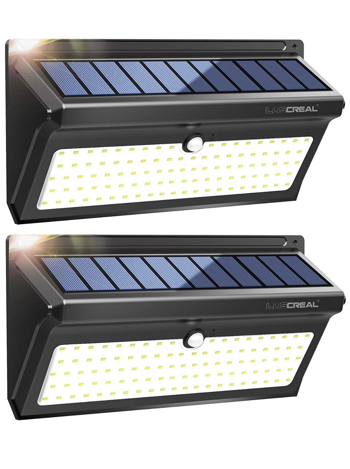 Luces solares para exterior