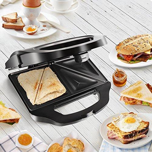 Sandwichera Aigostar 700W - revestimiento antiadherente.