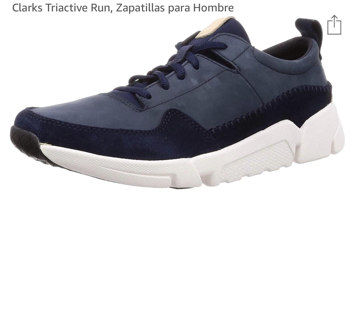 Clarks triactive Run zapatillas hombre