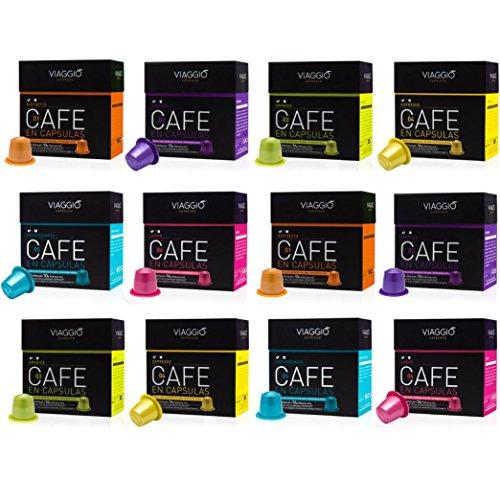 [Precio mínimo] Surtido 120 cápsulas compatibles con Nespresso