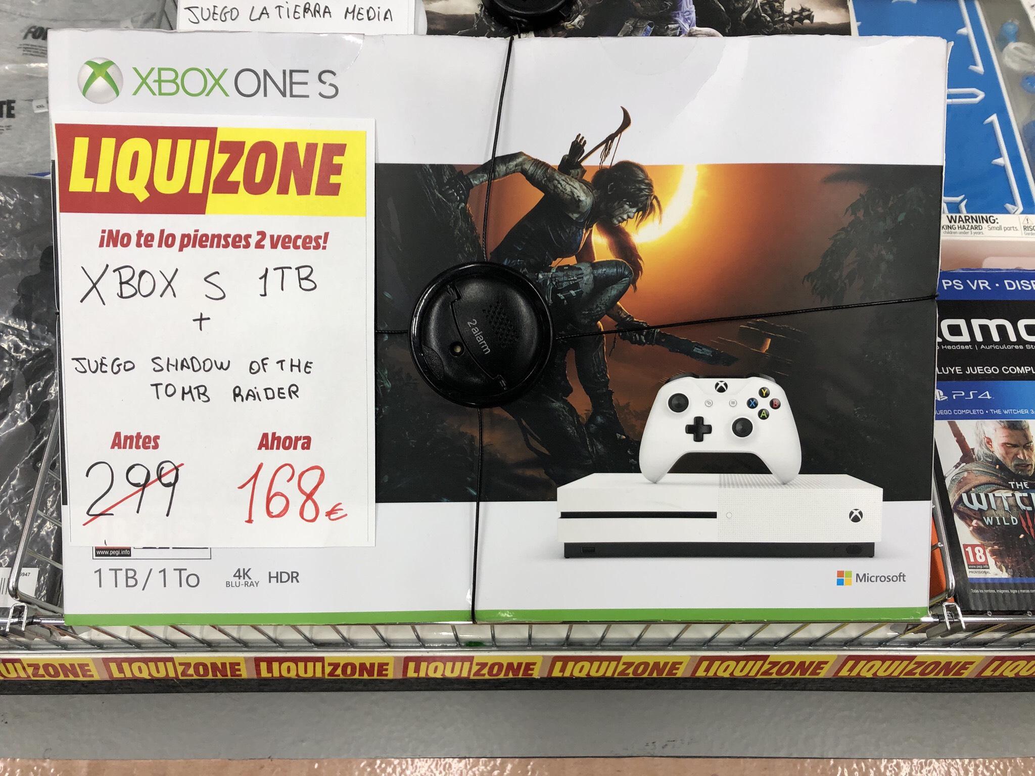 Xbox One S 1TB Mediamarkt Majadahonda