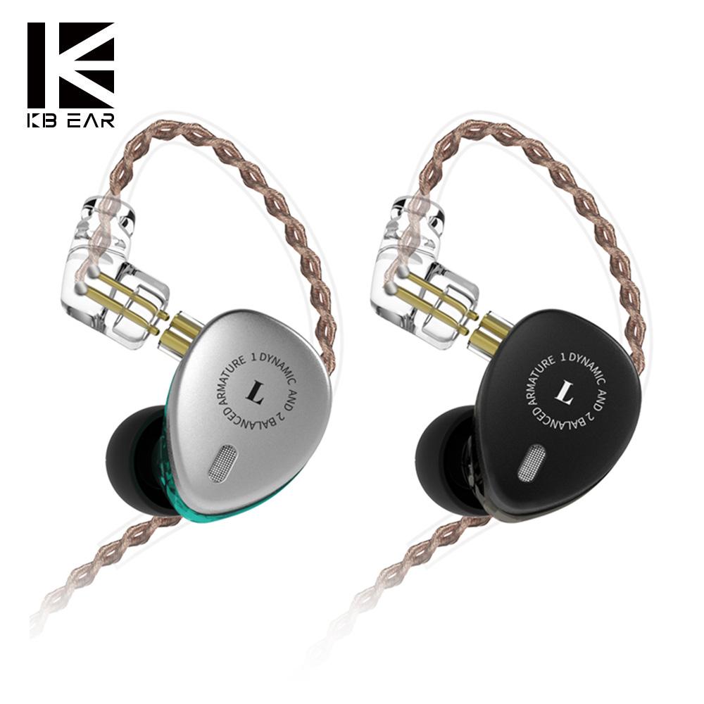 Nuevos auriculares Hibridos Kbear KB06 - 1dd+2ba