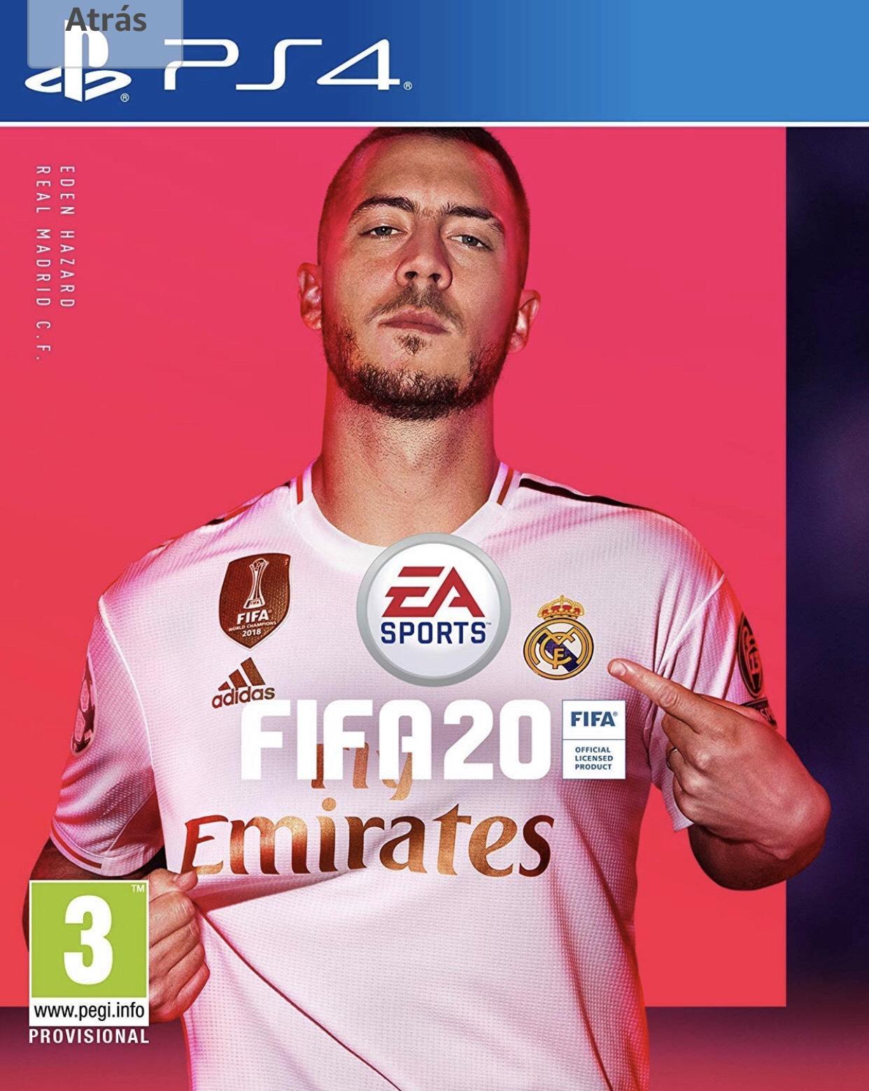 Fifa 20 para PS4 - Preventa