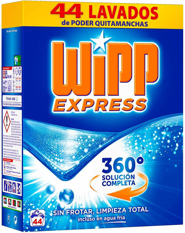 2 detergentes wipp express. Día illescas