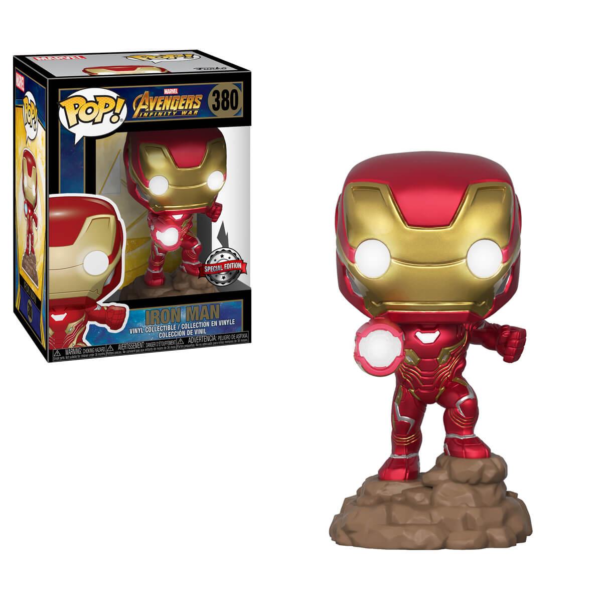 Funko POP! Iron Man (light up) Exclusive