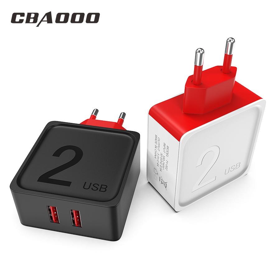 Cargador USB 2.4a con 2xUSB
