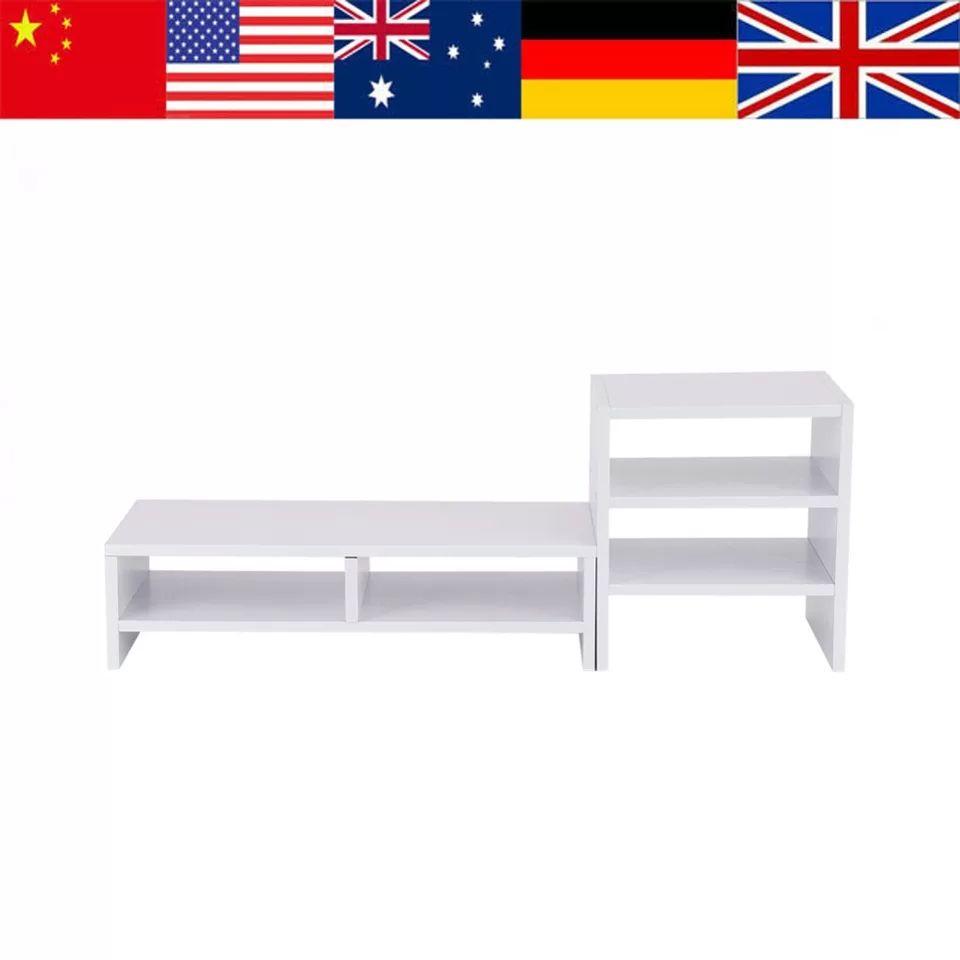Mueble soporte monitor + estantería organizadora desde España
