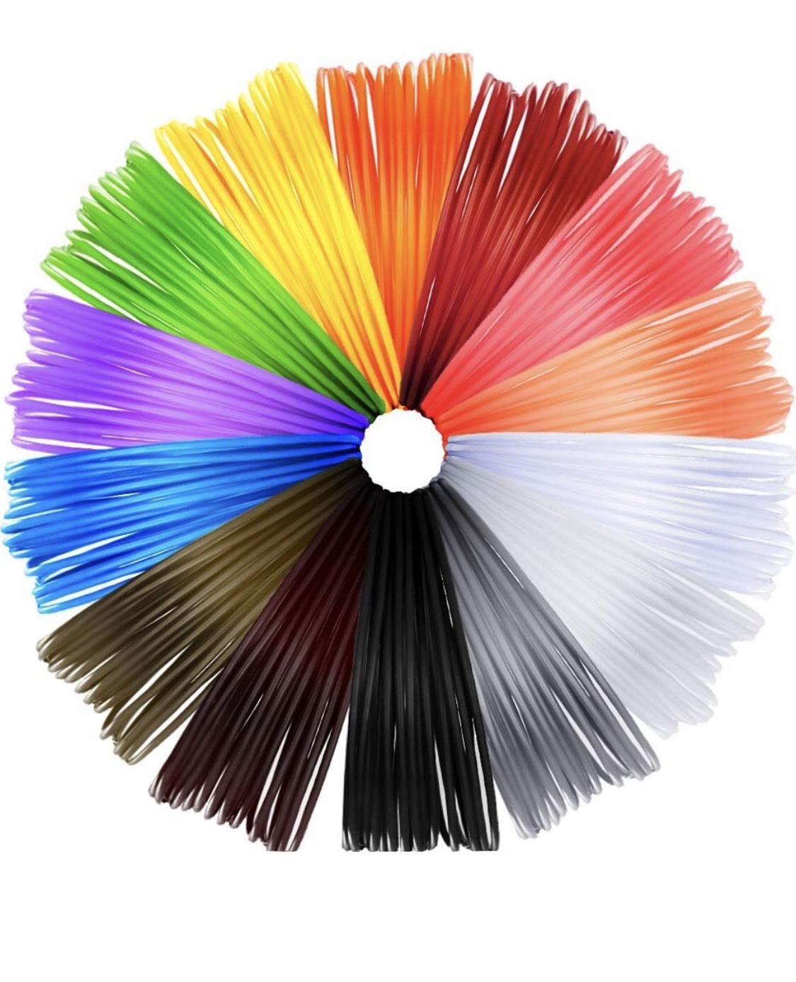 Filamento de colores