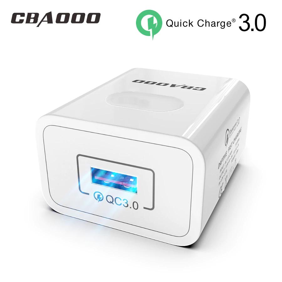 CBAOOO EU QC3.0 cargador de pared rápido carga