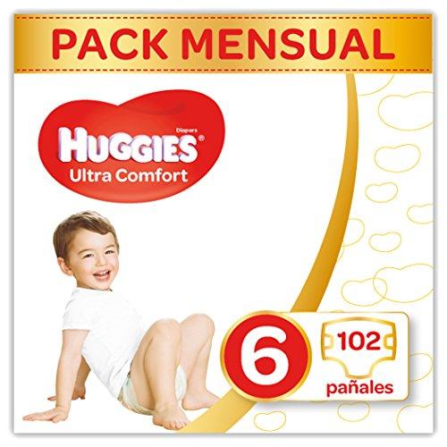 Huggies - 102 pañales por solo 19,74€