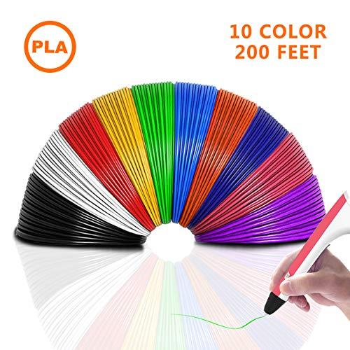 THZY Filamentos de 3D Impresión 10 Colores