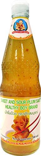 Healthy Boy, Salsa de ciruela - 12 de 800 ml. (Total 9.600 ml.)