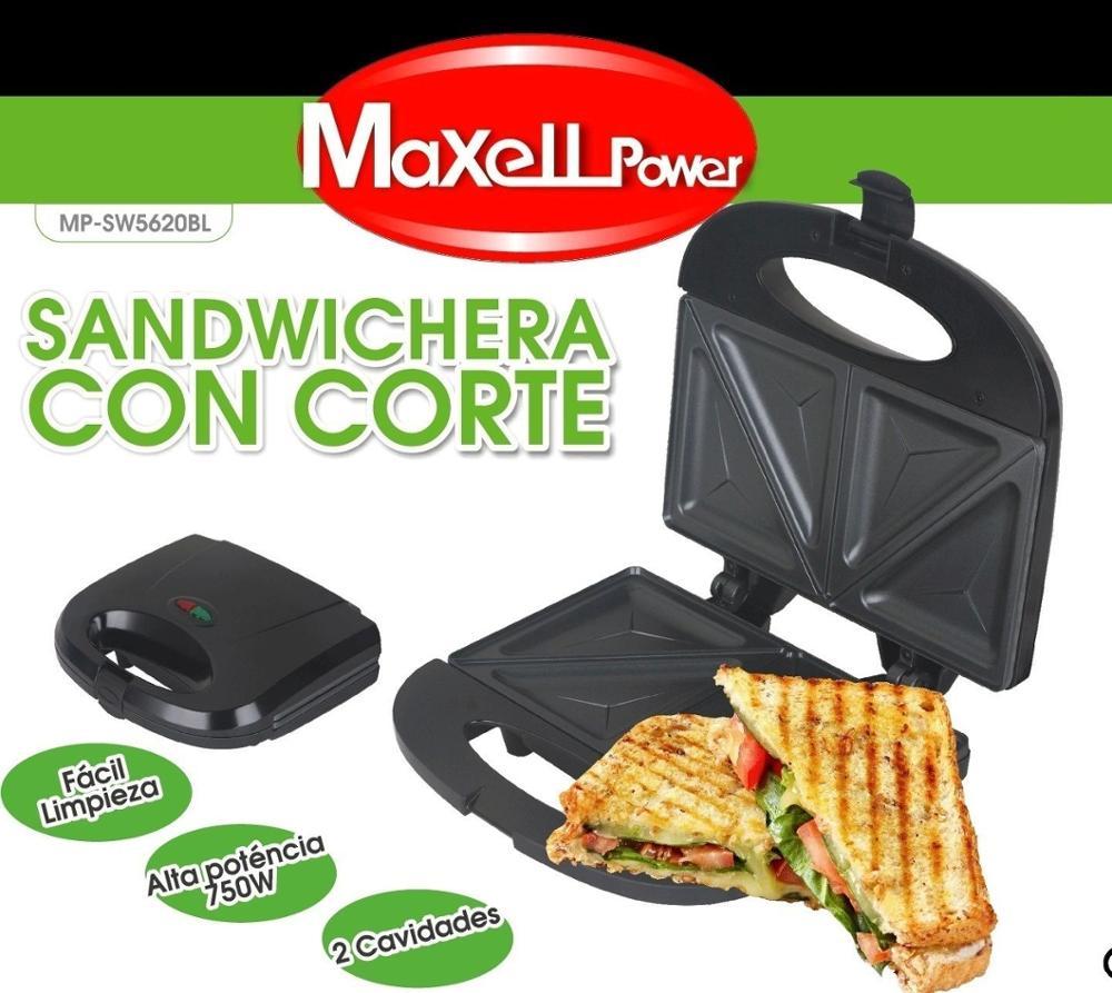 Sandwichera electrica antiadherente (Desde España)