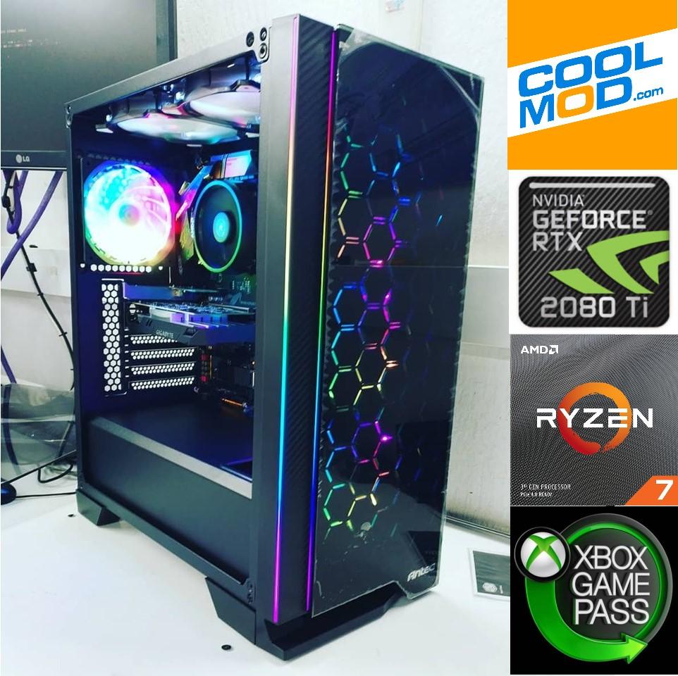 CoolPC - R7 3700X / 2080Ti 11Gb / 16Gb 3200Mhz / SSD 240Gb + 1Tb  [+REGALOS]