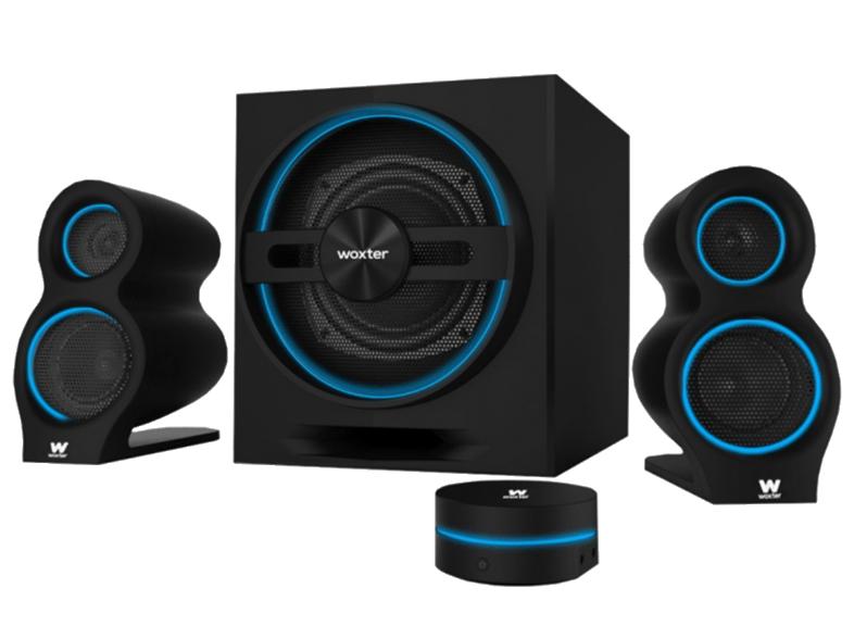 Sistema de altavoces - Woxter Big Bass 500, 150 W, 2.1, Bluetooth, Negro
