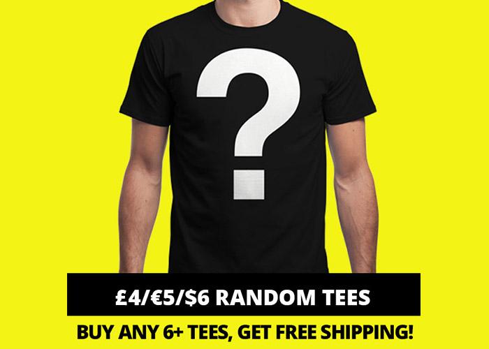 Camisetas Geek Random a 5€