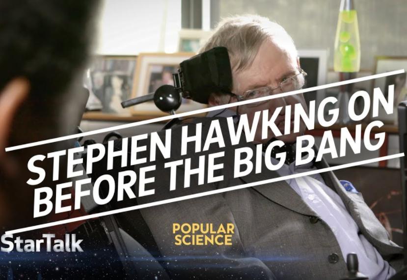 Última entrevista de Stephen Hawking: ¿Qué pasó antes del BigBang?