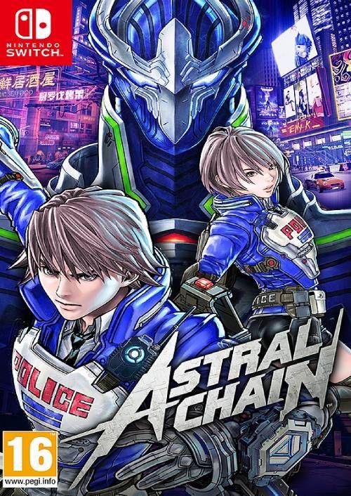 Astral chain digital nintendo switch
