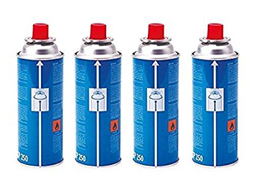Pack de 4 cartuchos de gas Campingaz CP250, de 250 gr