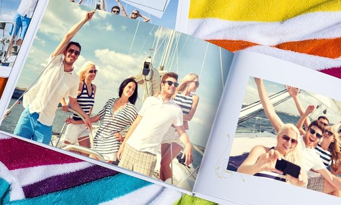 1 o 2 foto-libros gruesos en formato A4 vertical u horizontal de 100, 120 o 140 páginas