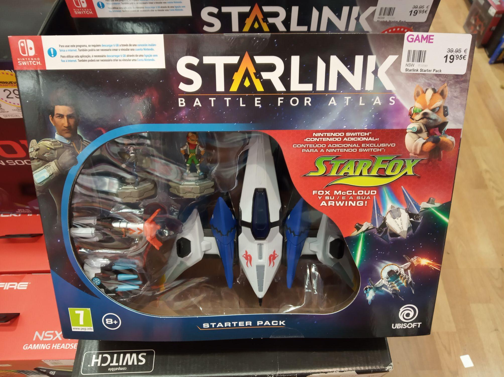 Starlink switch GAME bilbao