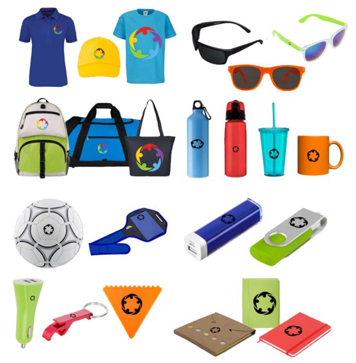 Textil y accesorios personalizados GRATIS