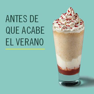 Frappuccino Strawberry Doughnut gratis al comprar una bebida