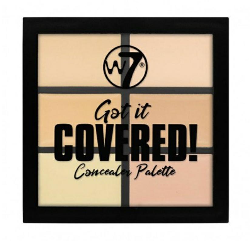 """W7""""Got It Covered"""". Paleta de Correctores, 6unidades"""