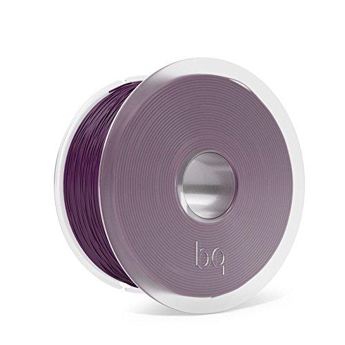 BQ Easy Go - Filamento PLA de 1.75 mm - Color aubergine